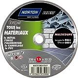 Norton Tronçonnage fin tous matériaux multi coupe 230 x 1,9 x 22,2 mm
