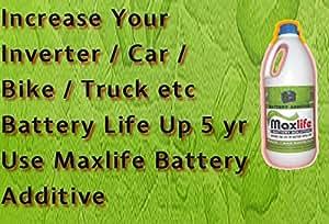 Maxlife Battery Additive (Battery Life Enhancer)
