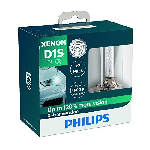 Philips 85415XVS2Ampoule Xénon X-tremeVision D1S, Set de 2