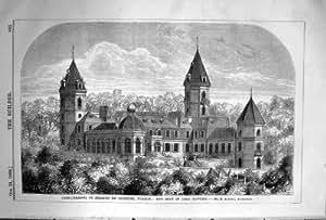 Seigneur 1868 de St Etienne Bayonne France de Maison-Caradoc de constructeur Howde Albano Architect