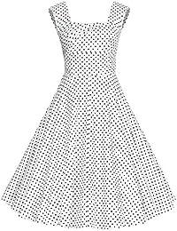 Dissa M1235 femme Rockabilly Robe de Soiré cocktail Robe de Bal Retro