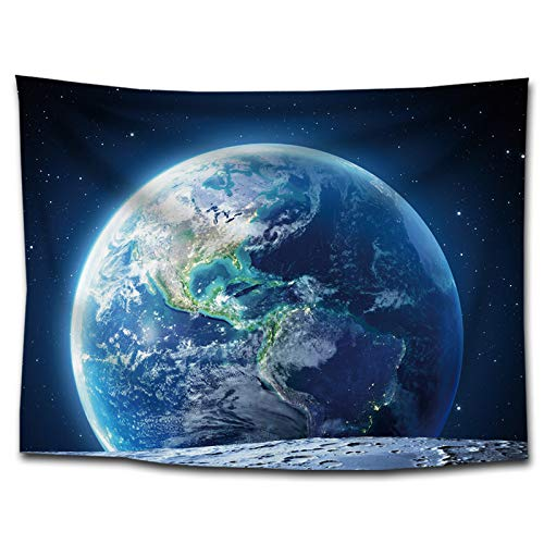 ZhenFa Weltraum Planeten Wandteppich dekorative liefert nach Hause Malerei Nordic kreative hängenden Tuch Nebel Hintergrund, Tuch