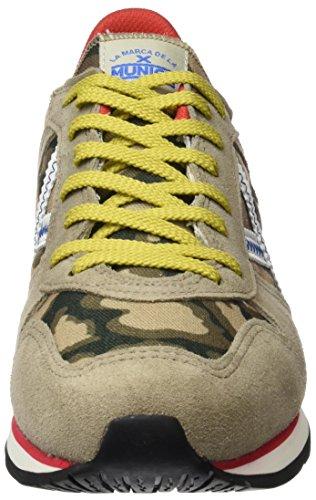 Cinza Homens camuflagem Munique Sneaker Massana dqw5p