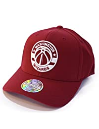 Mitchell   Ness Snapback 110 Curved The Burgundy Washington Wizards Burgundy b3f4932193f