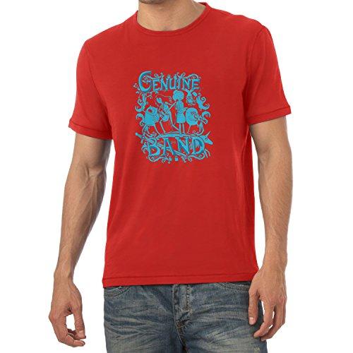 TEXLAB - Genuine Band - Herren T-Shirt Rot