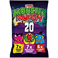 Walkers Monster Munch Variety Multipack Snacks, 20 x 22 g