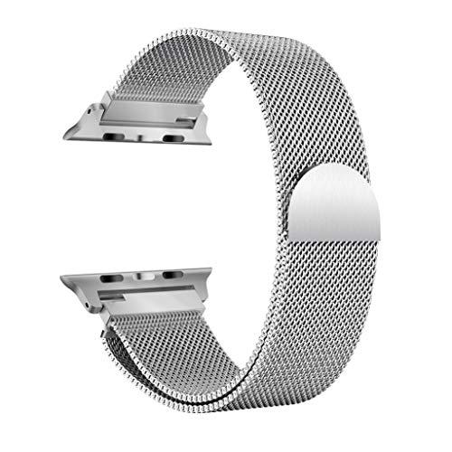 Die besten Geschenke von Valentine !!! Beisoug Milanese Edelstahl-Uhrenarmband für Apple Watch Serie 4 40MM
