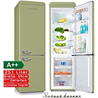 Schaub Lorenz sl250sg Rétro Réfrigérateur Congélateur vert Classe  d efficacité énergétique   A + 76f8e29cfadd
