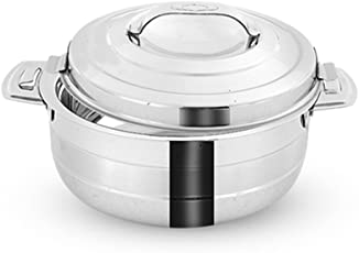Pigeon Galaxy Stainless Steel Casserole, 5 Litres, Silver