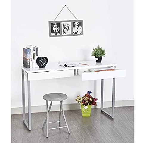 FurnitureR Console Table Unique Design Wood Entryway Console Sofa Entry Table with Drawer Multifunctional Storage Desk