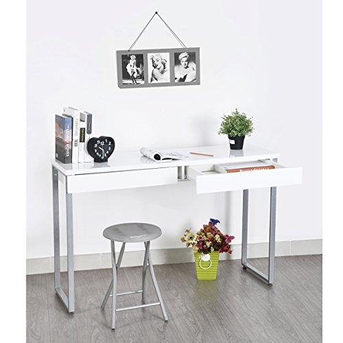 FurnitureR Konsole Einzigartiges Design Holz Diele Konsole Sofa Eintrag Tisch mit Schublade Multifunktional Aufbewahrung Schreibtisch