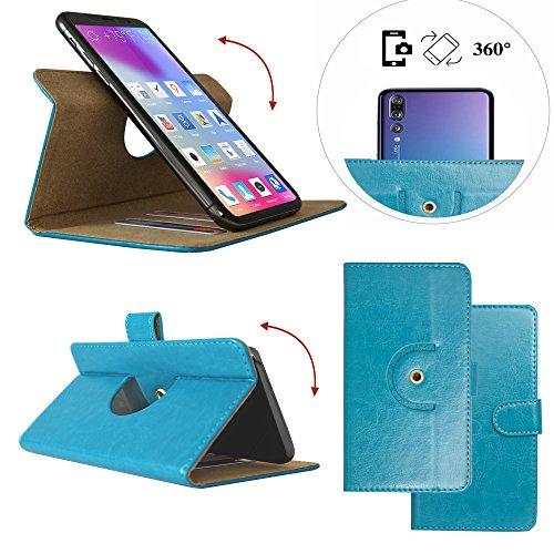 Handy Schutz Hülle | für Allview P8 eMagic | 360° Drehbare Funcktion |- 360° Nano L Türkis