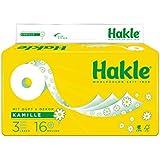 'Hakle Papier Toilette naturellement nourrissante avec camomille et aloe vera 3couches de sauna