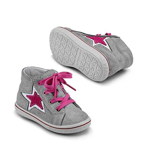 Ricosta Mario Unisex-Kinder Hohe Sneakers Grau - Grau