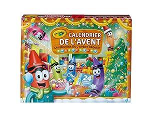 Crayola - 04-6808-E-000 - Calendrier De L'avent - Une Activité Jour