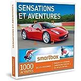 SMARTBOX - Coffret Cadeau - SENSATIONS ET AVENTURES - 1615 activités : conduite de GT (FERRARI, LAMBORGHINI, PORSCHE), vol en ULM, rafting