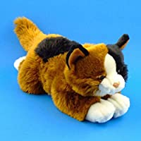 Plush Soft Toy Calico Cat. 38cm.