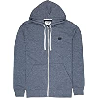 BILLABONG All Day Zip Hood Jersey, Hombre, Azul (Navy 21), Medium (Tamaño del Fabricante:M)