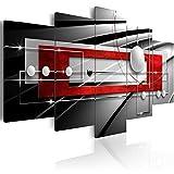murando - Bilder 200x100 cm - Vlies Leinwandbild - 5 Teilig - Kunstdruck - Modern - Wandbilder XXL - Wanddekoration - Design - Wand Bild - Abstrakt Kugel a-A-0209-b-n