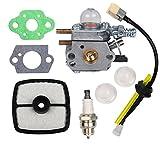 Ruche filtre Carb Carburateur avec joint filtre à air Primer ampoule bougie d'allumage pour Zama C1u-k52