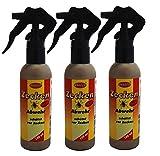3 x 100ml Zecken-Abwehr-Spray, Anti-Zeckenspray Zeckenspray Zeckenschutz, BRAECO