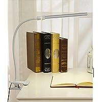 LEDLampada ricaricabile di clip dellocchio/USBLampada ancoraggio/Lampada da comodino scrivania piccola-G
