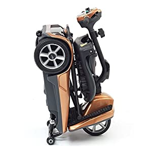 drivedevilbiss Automatic Folding Lightweight Mobility Scooter - Copper