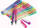 #2: Aptitude Set Of 6 Multi-Color Gel Pen - Neon