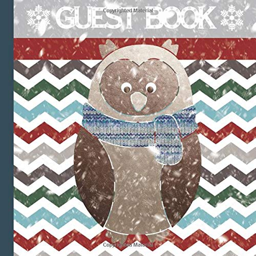 arty Guest Book Includes Gift Tracker and Picture Page Section to Create a Lasting Memory of Your Event (Winter Birthday Party ... Invitations,Winter Themed Party Supplies) ()