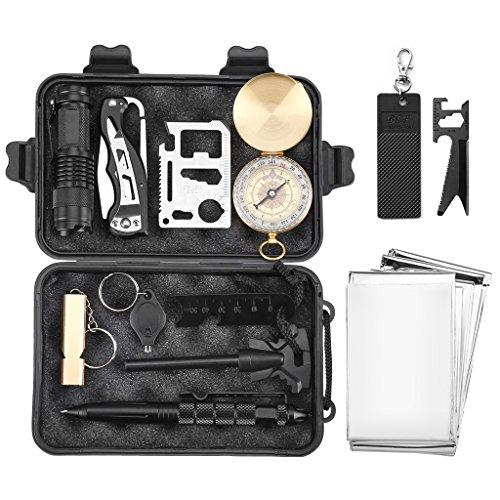 Finether-Kit de Supervivencia Militar Profesional...