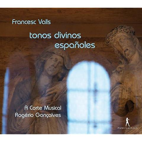 Valls: Tonos Divinos Españoles / A Corte Musical - Gonçalves
