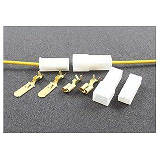Tama-Kabel/Draht Multi Plug Block Steckern 1Way Crimp Terminals (1Set Männlich/Weiblich)