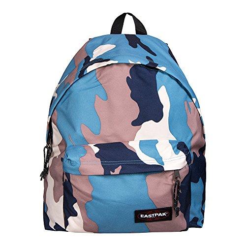 Eastpak Padded Pakr Polyamide,Polyester Blue,Brown,Grey,Red backpack - Backpacks (Polyamide, Polyester, Blue, Brown, Grey, Red, Monotone, 35.6 cm (14), Front pocket, Zipper) Azzurro