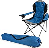 Trail Padded Folding Festival Camping Chair Funky Polka Dot Outdoor Seat And Bag