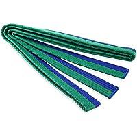 zhang-hongjun,Engrosando El Cinturón De Karate Artes Marciales Y Taekwondo(Color:Azul Y Verde)