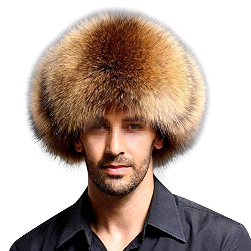 Frcolor Sombrero Cuero Artificial Faux Fur Northeast