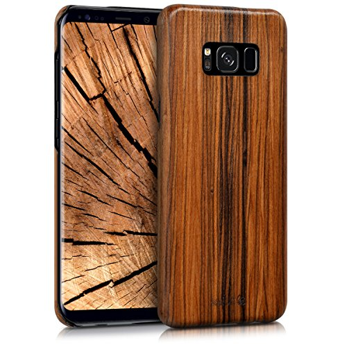 holz case h lle f r samsung galaxy s8 plus aus lindenholz. Black Bedroom Furniture Sets. Home Design Ideas