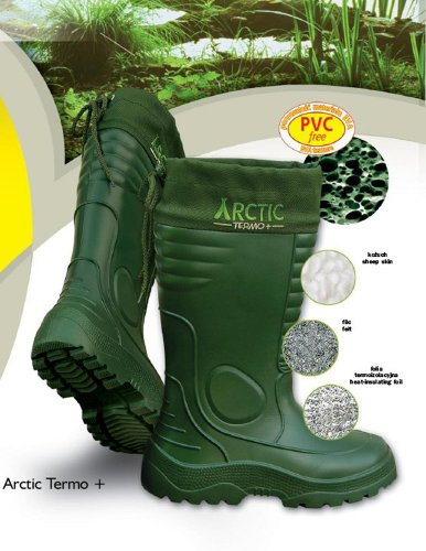 Lemigo leichte EVA Gummistiefel Thermostiefel Arctic Grün