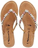 Tamaris Damen 27125 Pantoletten, Pink (Rose Metl.Comb), 38 EU