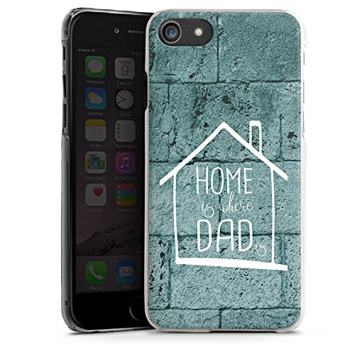 Apple iPhone X Silikon Hülle Case Schutzhülle Vatertag Dad Papa Hard Case transparent