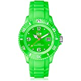 ICE-Watch - Montre Mixte - Quartz Analogique - Ice-Forever - Green - Small - Cadran Vert - Bracelet Silicone Vert - SI.GN.S.S.09
