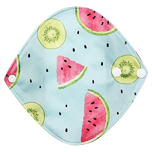 sunnymi Waschbar Menstruation Pad Mama Sanitär Handtuch Wiederverwendbar Bambus Tuch (N) -