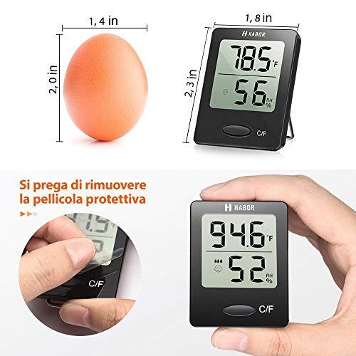 Zoom IMG-3 habor igrometro termometro digitale termoigrometro