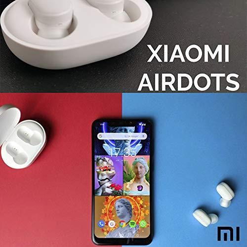 Xiaomi Mi Airdots Kabellose Kopfhörer, Bluetooth 5.0 - automatische Verbindung (Stereo) 12h Geräuschunterdrückung, Touch-Tasten, tragbares Ladegerät, CE-Zertifiziert (iOS & Android) weiß - 7
