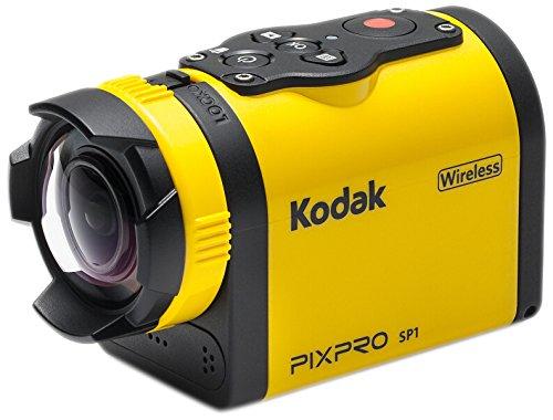 Kodak Full HD 1080P macchina fotografica di azione Giallo/Nero