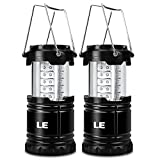 LE 2 Pack Portable LED Lantern Outdoor...