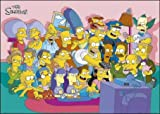 The Simpsons (Cast Couch) - Maxi Poster - 61cm x 91.5cm