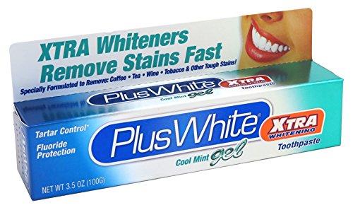 Plus+White Toothpaste Xtra Whitening Mint Gel 104 ml (Zahnpasta)