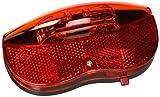 Lampa 93600 Fanalino Posteriore Portapacchi, 2 Super LED, Omologato, Multicolore