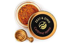 Peperoncino Cayenna, 20g: Zest & Zing Premium Peperoncino